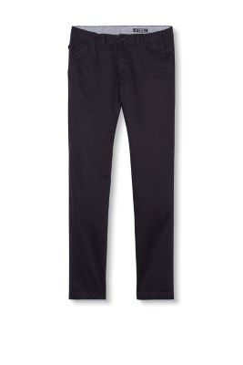 Esprit / Basic chinos in strong cotton twill
