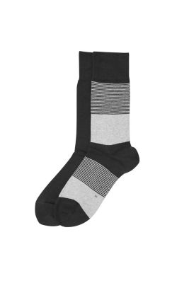 Esprit / 2 pairs of socks, one striped, one plain