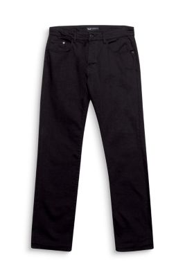 Esprit / Colourfast black denim stretch jeans