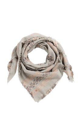Esprit / Webtuch mit Jacquard-Streifen