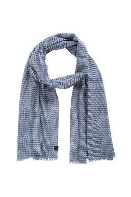 Esprit / Leichter Print Schal, 100% Baumwolle