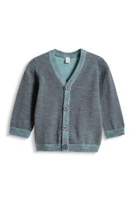 Esprit / Melange Cardigan, 100% Baumwolle