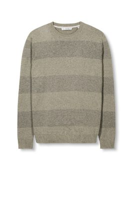 Esprit / block stripe sweater