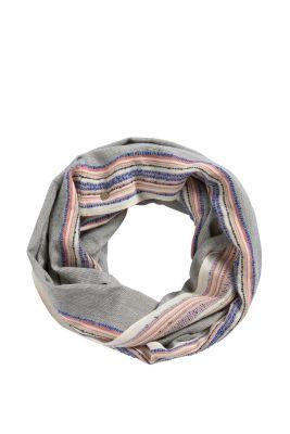 Esprit / Loop-Schal mit Streifen-Akzent
