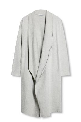 Esprit / Long-Cardigan aus Jersey/Stretch