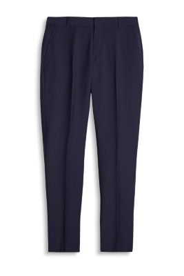 Esprit / ACTIVE SUIT - Knitterfreie Stretch-Hose