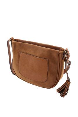 Esprit / Tasche im Materialmix mit Troddeln