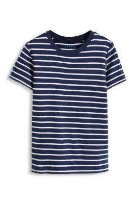 Esprit / Ringelshirt aus Ripp, 100% Organic Cotton