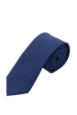 Esprit / Krawatte mit Karostruktur, 100% Seide