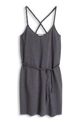 Esprit / Jersey dress with criss-cross straps