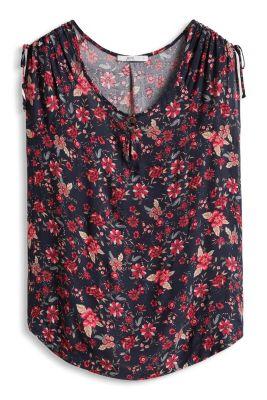 Esprit / Fließendes Flower-Blusen-Top