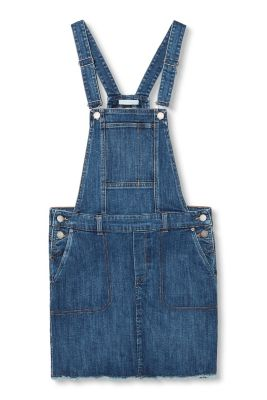 Esprit / Mini pinafore in stretch denim