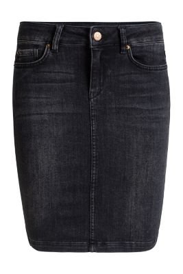 Esprit / Pencil-Rock aus Stretch-Denim