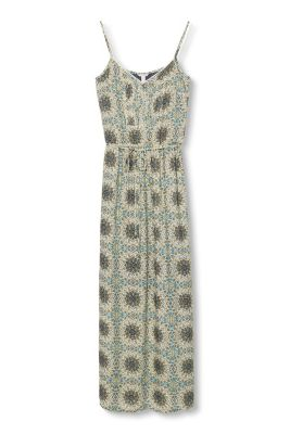 Esprit / Fließendes Maxi-Kleid in verspieltem Look