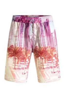 Esprit / Beach Shorts mit Print und integriertem Slip