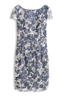Esprit / printed lace dress