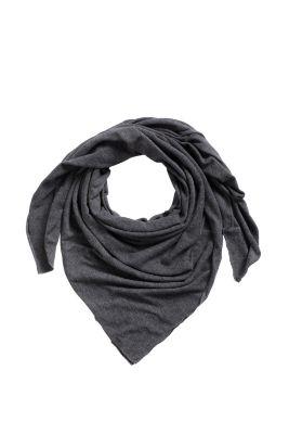 Esprit / Écharpe en jersey de coton mélangé