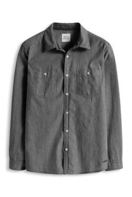 Esprit / Streifen Hemd, 100% Baumwolle