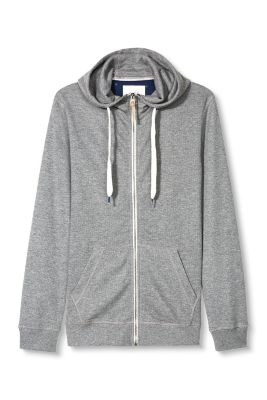 Esprit / Hooded textured sweatshirt