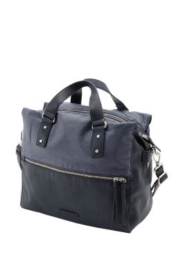 Esprit / Citybag im Materialmix