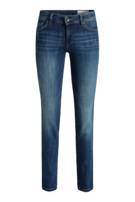 Esprit / Skinny stretch jeans with a vintage finish