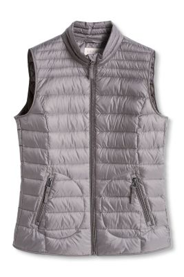 Esprit / Lightweight quilted gilet with down filling