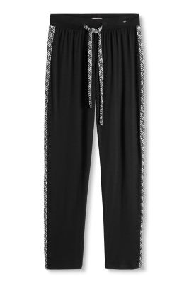 Esprit / Casual, soft stretch jersey trousers