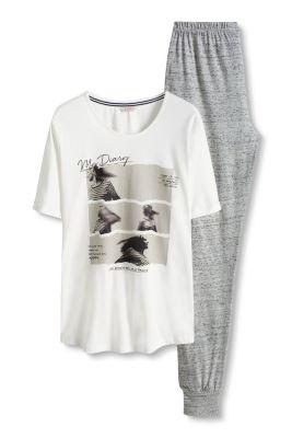 Esprit / Pyjama aus weichem Jersey