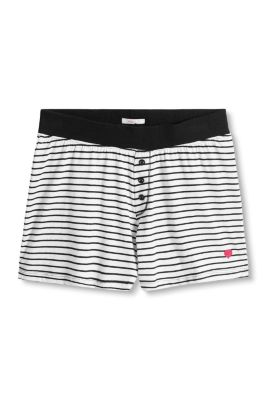 Esprit / Jersey shorts made of 100% cotton