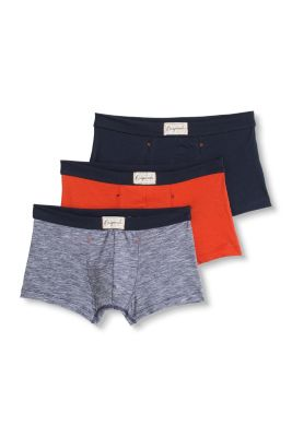 Esprit / Shorts im 3er-Pack, Baumwolle/Stretch