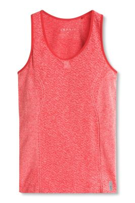 Esprit / Seamless sports vest with an integrated bra