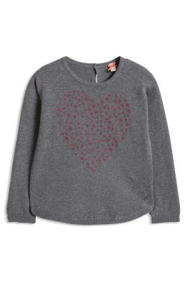 Esprit / Pulli mit Herz, 100% Baumwolle
