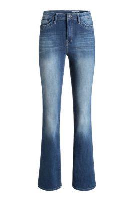 Esprit / Flared-Jeans mit Ripped-Effekten