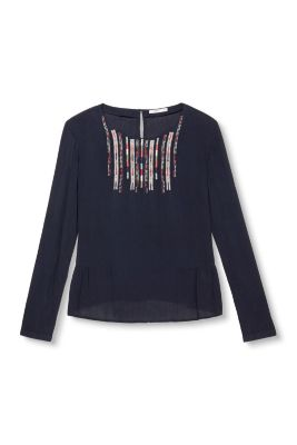 Esprit / Elaborately embroidered blouse