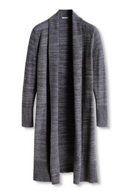 Esprit / Langer Cardigan aus Baumwollstrick