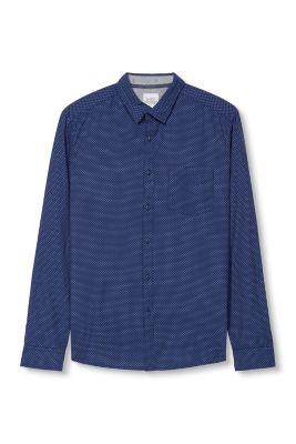 Esprit / printed poplin shirt
