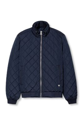 Esprit / Quilted jacket in a bomber style