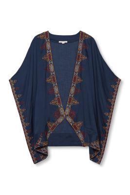 Esprit / Let kimono med flot broderi