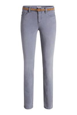 Esprit / Weiche Twill-Hose aus Baumwolle/Stretch
