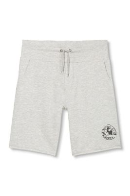 Esprit / Sweatshirt shorts with Muhammed Ali print