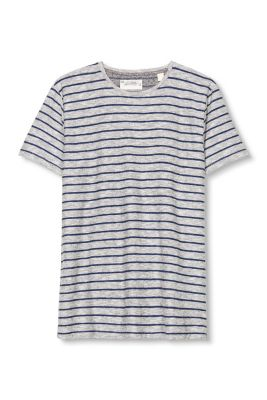 Esprit / Cotton heavy jersey T-shirt with stripes