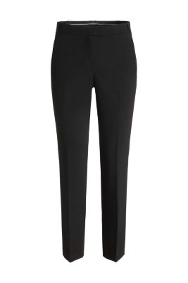 Esprit / Business trousers with zipped pockets