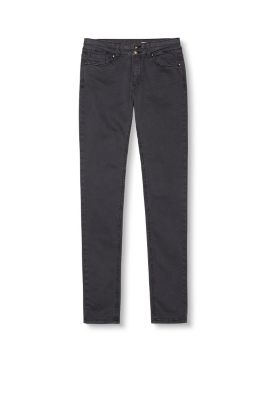 Esprit / Stretch trousers with flap pockets