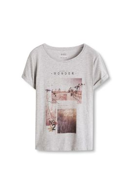 Esprit / T-Shirt mit Artwork-Print