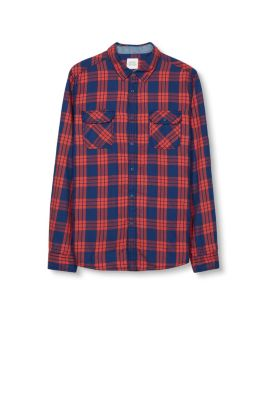 Esprit / Check shirt, 100% cotton