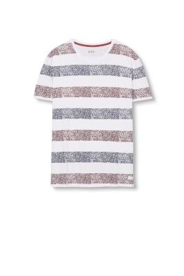 Esprit / Striped jersey T-shirt, 100% cotton