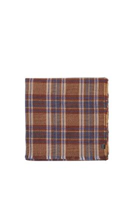 Esprit / Large soft woven scarf with check pattern