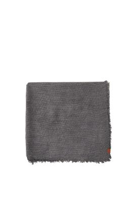 Esprit / Soft woven scarf with alpaca