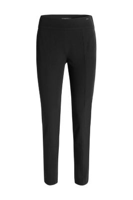 Esprit / Figure-shaping twill trousers