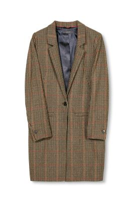 Esprit / Indoor tweed blazer coat